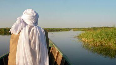 Un paysan tchadien, ici à Bol le 11 décembre 2009, du lac Tchad, frontière entre quatre pays où opèrent les combattants de Boko Haram