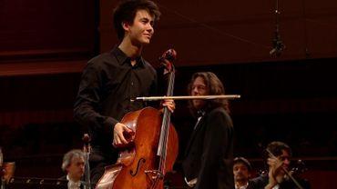 Christoph Heesch après son concerto