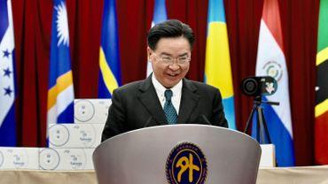 """Pékin veut faire de Taïwan """"le prochain Hong Kong"""", déclare un ministre taïwanais"""