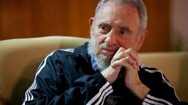 Fidel Castro, le 3 février 2012 à La Havane