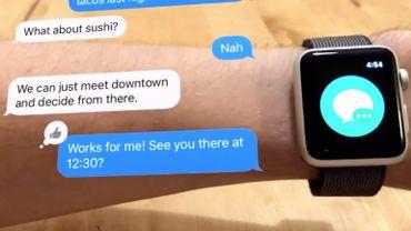 Un développeur imagine un concept d'Apple Watch en réalité augmentée