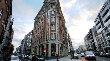 L'hôtel Mondo à Ostende