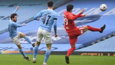 Bernardo Silva double buteur en FA Cup ce dimanche