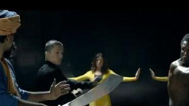 Image tirée de la vidéo controversée de l'Union européenne