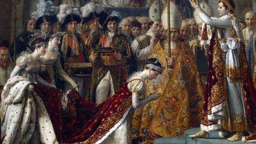 """""""Le Sacre de Napoléon"""", tableau de Jacques-Louis David"""