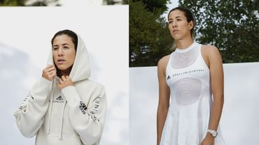 Adidas par Stella McCartney: sweat Infinite et robe de tennis Biofabric