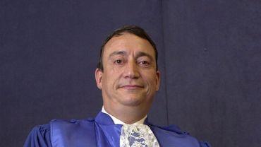 Jean-Paul Moerman, juge de la Cour constitutionnelle.