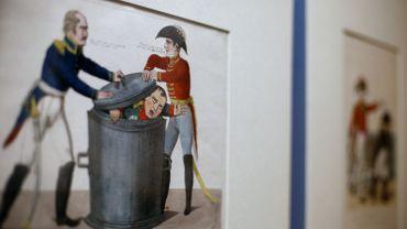 Au British Museum, Napoléon croqué par les caricaturistes de son époque