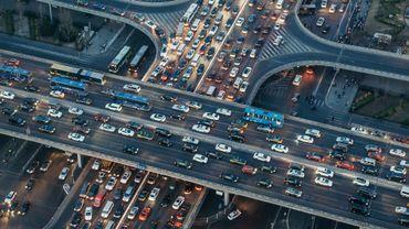 Les habitants de la Cité des Anges ont passé 102 heures l'an dernier dans les embouteillages.