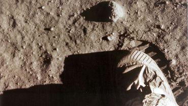 Un astronautre chinois posera-t-il son pied sur la Lune? Ici, Neil Armstrong, le 20 juillet 1969.