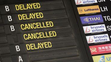 Annulation de vols ce jeudi à Brussels Airport