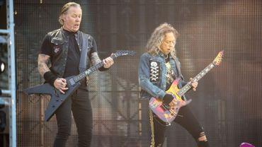 Metallica au stade Roi Baudouin en 2019