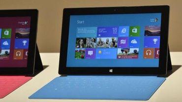 Surface, la tablette de Microsoft qui entend concurrencer l'iPad de Apple