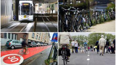"""Fin du """"tout-à-la-voiture"""": le plan de mobilité gantois est-il applicable à Bruxelles?"""