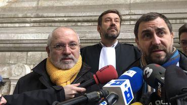 Lluis Puig et Toni Comin ont obtenu un report d'audience au 16 décembre.