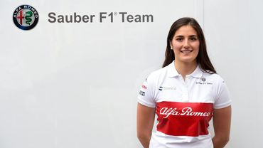 La Colombienne Calderon devient pilote d'essai chez Sauber