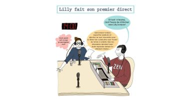 Lilly fait son premier direct