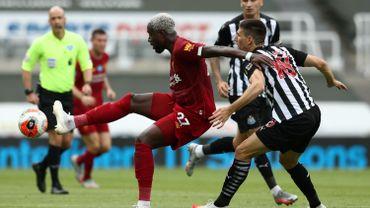Origi retrouve le chemin des filets contre Newcastle