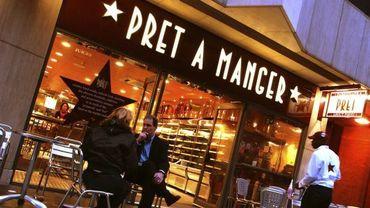 Pret A Manger arrive à Bruxelles!