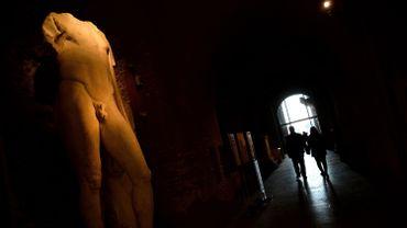 Vue intérieure du Musée du Capitole, à Rome