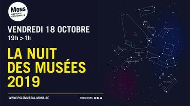 """Les musées montois resteront accessibles au public tard dans la soirée le 18 octobre, dans le cadre de la 5e """"Nuit des Musées""""."""