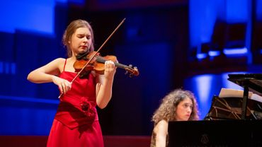 Sarah Bayens remporte le concours Young Belgian Talent