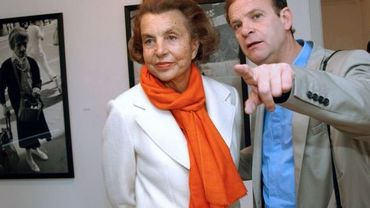 François-Marie Banier avec Liliane Bettencourt en 2004