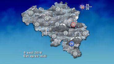 Météo de ce jeudi: vigilance orange pour les orages, le vent et les averses