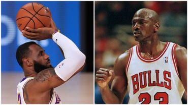 Lebron James ou Michael Jordan? Quel est, selon vous, le meilleur joueur de tous les temps en NBA?
