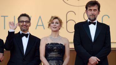John Turturro, Margherita Buy et Nanni Moretti au Festival de Cannes