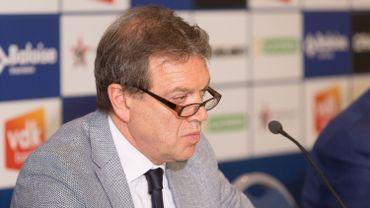Le manager de La Gantoise Michel Louwagie entendu par la police