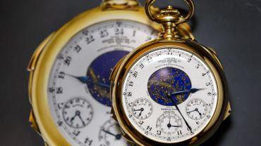Aux enchères, les montres Patek Philippe partent pour 200 000 dollars pièce