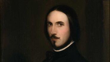 Antoine Wiertz : « Autoportrait », ca. 1840-1845. Bruxelles, Musées royaux des Beaux-Arts de Belgique, inv. 11950