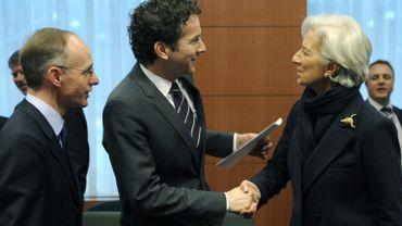 Jeroen Dijsselbloem et Christine Lagarde engagent la zone euro et le FMI dans un plan de sauvetage de Chypre