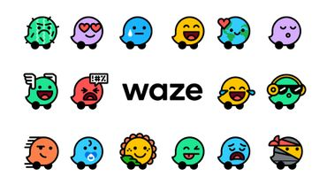 """Waze inaugure une trentaine de nouvelles """"humeurs"""" à partager sur le réseau."""