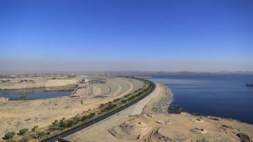 Le barrage d'Assouan s'étire sur plus de trois kilomètres.