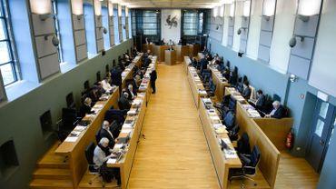 Illustration: le Parlement wallon, à Namur