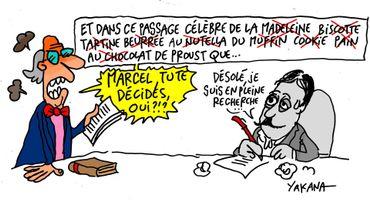 Réédition des manuscrits de Proust