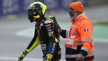 Valentino Rossi a été testé positif au Covid-19 jeudi et doit observer une période de quarantaine avant de pouvoir revenir sur les circuits.