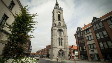 Le carillon du beffroi de Tournai.