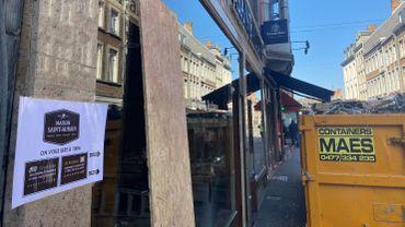 Namur: la maison Saint-Aubain fait peau neuve et défend le commerce de centre-ville