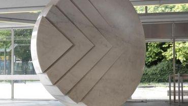 Driehoek in beweging, l'un des travaux les plus connus de l'artiste