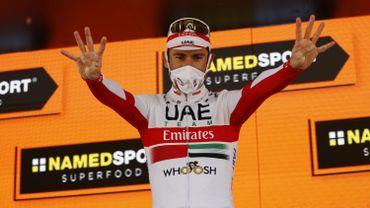 Diego Ulissi (UAE Team Emirates) a remporté la huitième victoire de sa carrière sur le Tour d'Italie.
