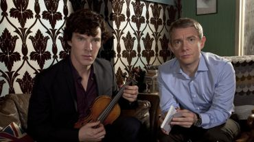 """La série """"Sherlock"""" devrait connaître une quatrième saison, révélée en 2016 en Angleterre"""