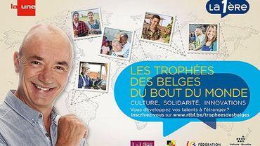 Les Belges du bout du monde, émission présentée par Adrien Joveneau.