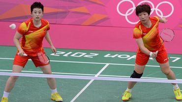 Les chinoises Yu Yang et Wang Xiaoli