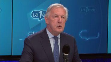 Daniel Bacquelaine (MR), ministre fédéral des Pensions.