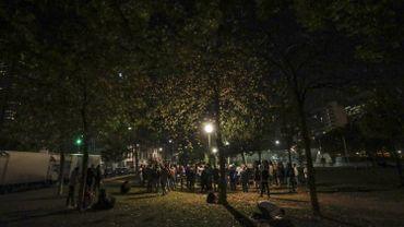 Parc Maximilien: 100 migrants évacués dès 15h ce dimanche par la Plateforme citoyenne