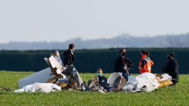 L'avion de type Robin DR400 a été retrouvé dans un champ à 50 mètres d'une route départementale