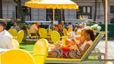 New York Public Library : un espace de lecture en plein air